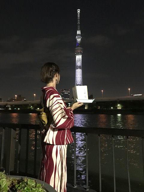 隅田川灯篭流し