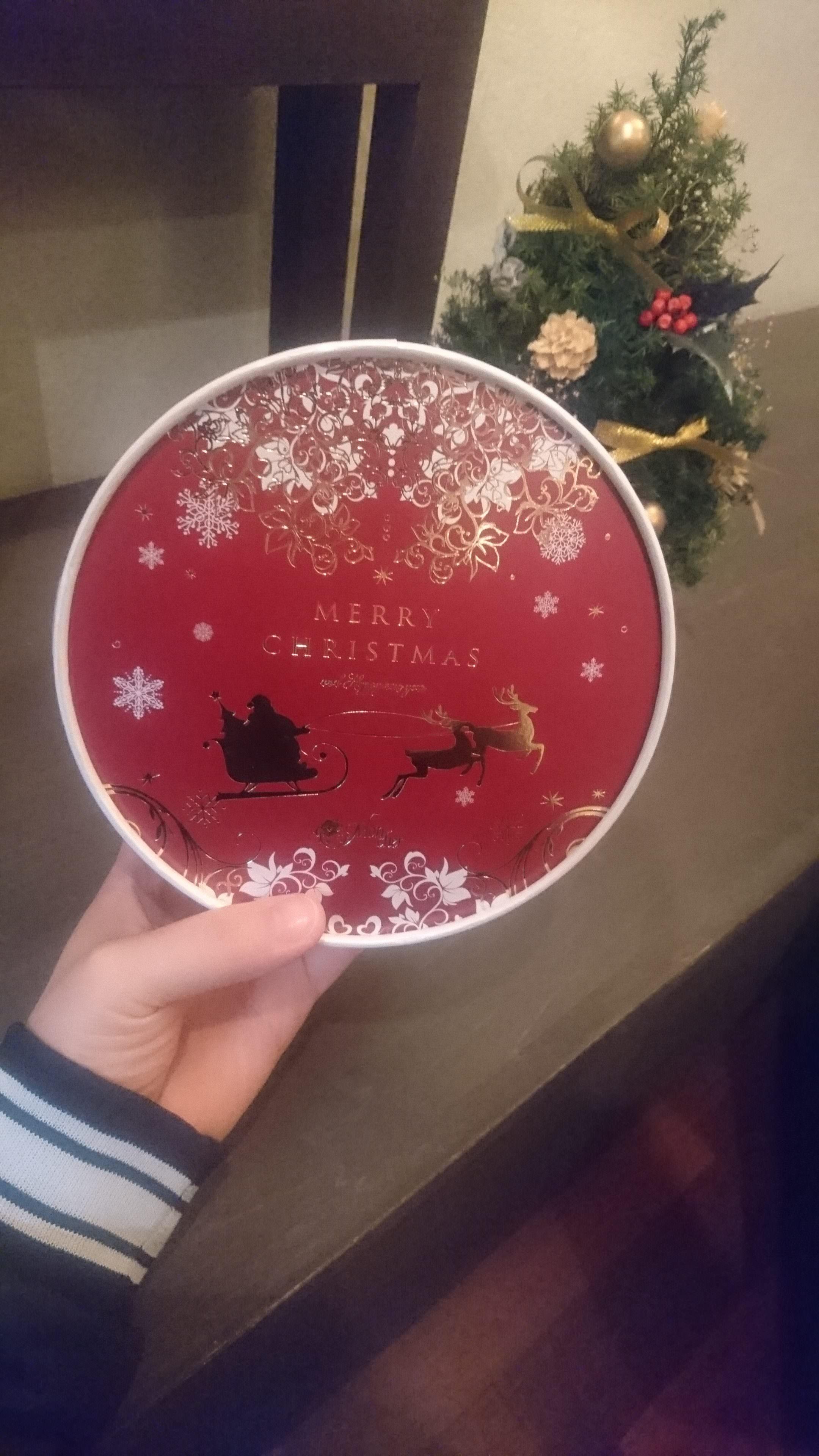 お客様からのクリスマスプレゼント